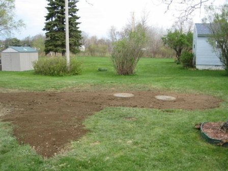 Completed Septic Installation